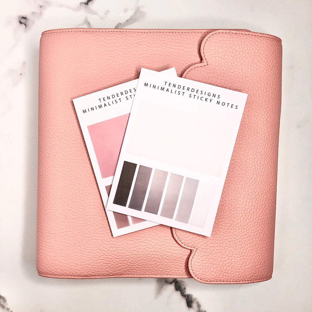 PLANNER ACCESSORIES Minimalist Transparent Sticky Note And Flags