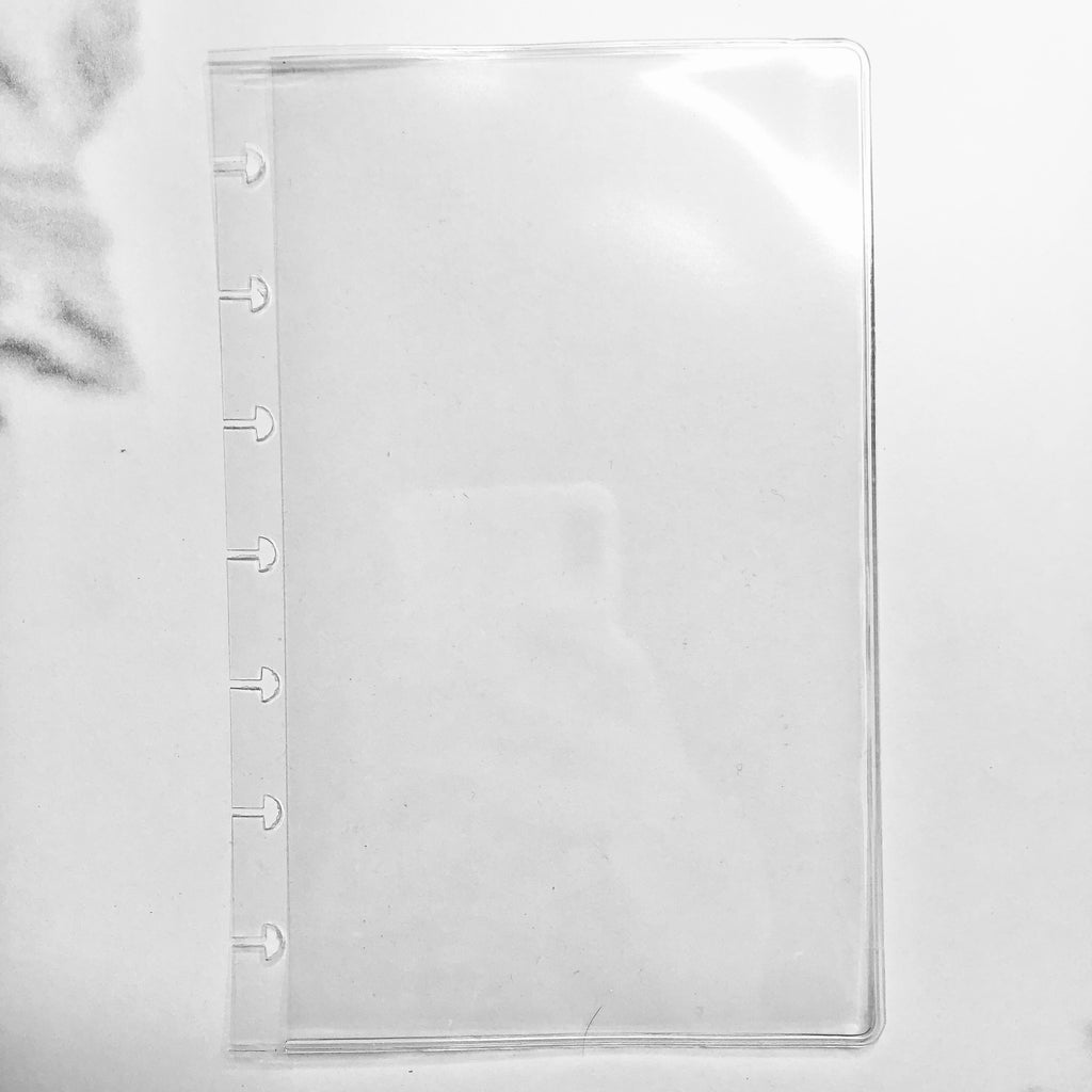 Planner Accessories CLEAR VINYL DISCBOUND POCKET
