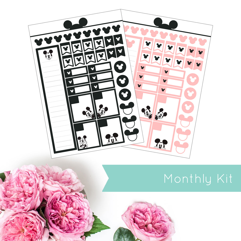 Magical Planner MONTHLY KIT