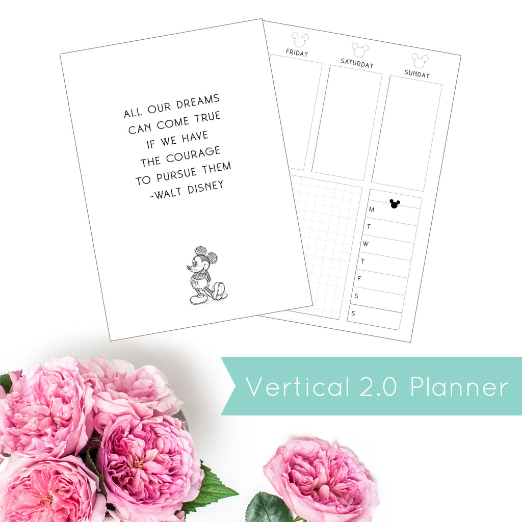 Magical Planner WEEKLY VERTICAL 2.0 PRINTED PLANNER (January-June)