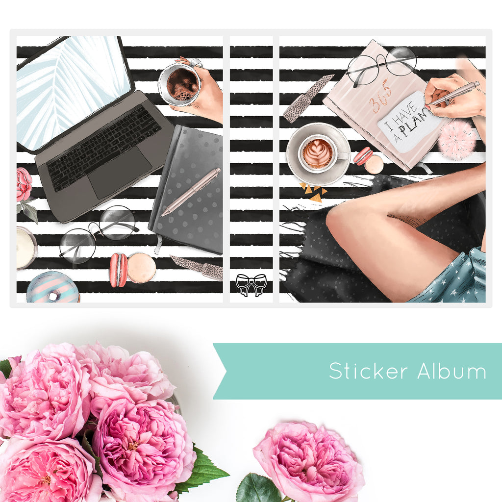 Sticker Album PLANNER MANIA