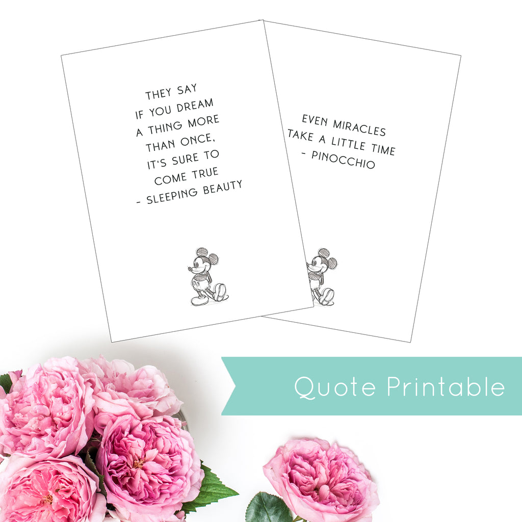 Magical Planner 12 MONTHLY QUOTES PRINTED DASHBOARDS