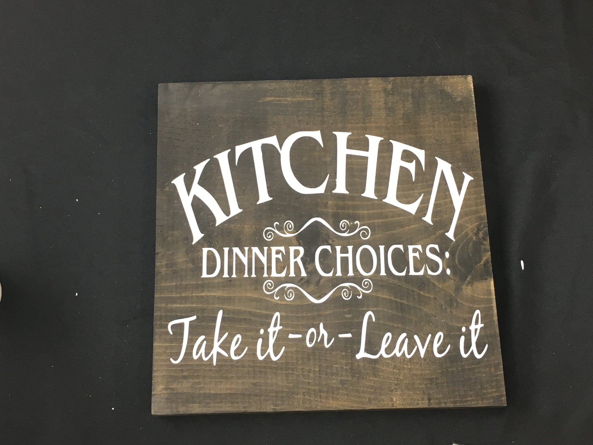 Create a Wood Sign Using Oramask Stencil Vinyl