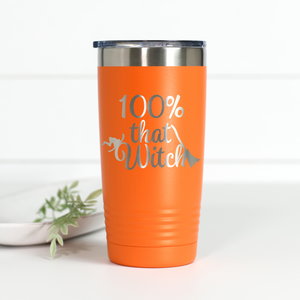 Wholesale - 100% That Witch 20 oz Engraved Tumbler