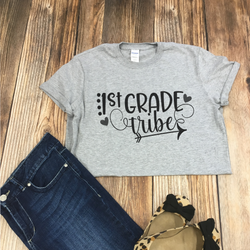 Teacher Grade Level Tribe Tee