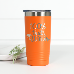 100% That Witch 20 oz Engraved Tumbler