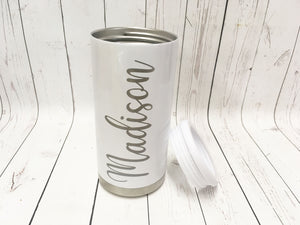 Personalized Engraved Skinny Can Cooler