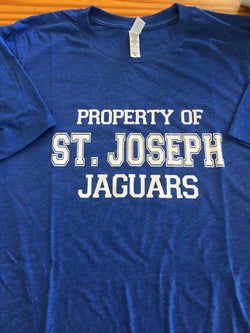 Property of St Joseph Jaguars Tee
