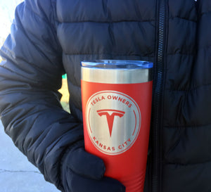 Kansas City Tesla Owners Club Tumbler