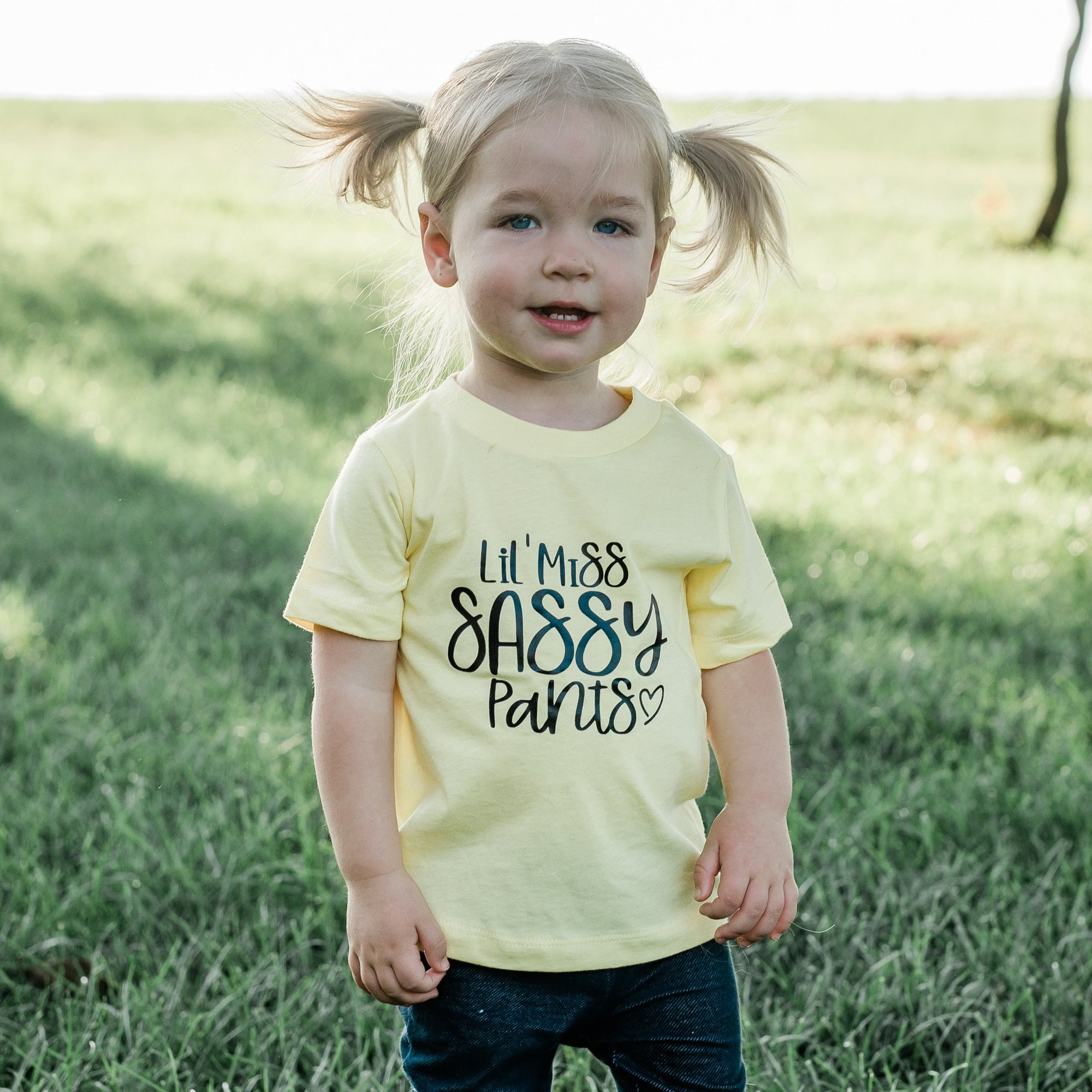 Lil Miss Sassy Pants Toddler Tee