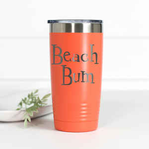 Beach Bum 20 oz Engraved Tumbler
