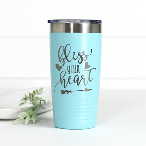 Bless Your Heart 20 oz Engraved Tumbler
