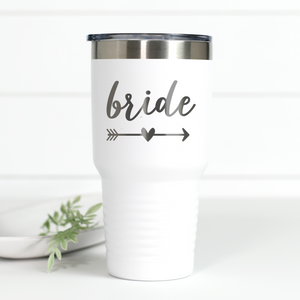 Bride 30 oz Engraved Tumbler