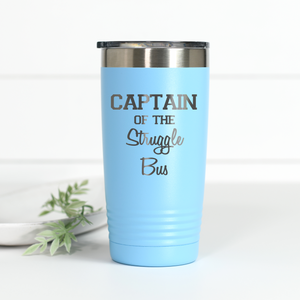 Captain of the Struggle Bus 20 oz Engraved Tumbler