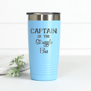 Wholesale - Captain of the Struggle Bus 20 oz Engraved Tumbler