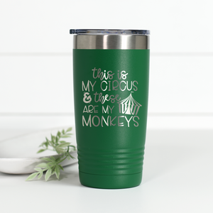 Wholesale - This is My Circus These Are My Monkeys 20 oz Engraved Tumbler