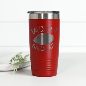 Wholesale - Falls Out Balls Out 20 oz Engraved Tumbler