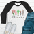 Friends Christmas Raglan Tee