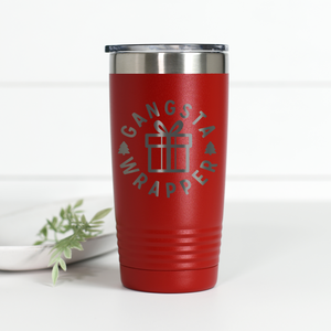 Gangsta Wrapper 20 oz Engraved Tumbler