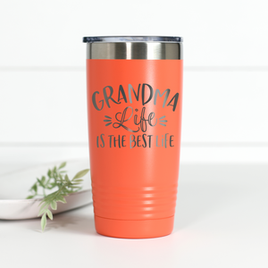 Wholesale - Grandma Life is the Best Life 20 oz Engraved Tumbler