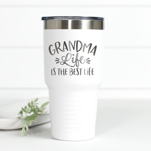 Grandma Life is the Best Life 30 oz Engraved Tumbler