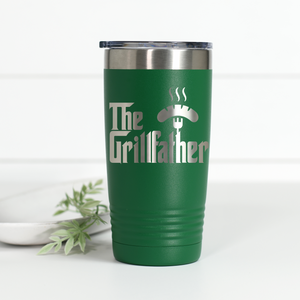 The Grillfather 20 oz Engraved Tumbler