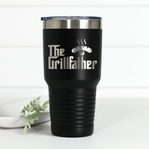 Grillfather 30 oz Engraved Tumbler