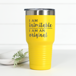 Hamilton I Am Inimitable 30 oz Engraved Tumbler