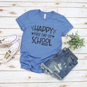 Wholesale - Happy First Day of School Tee
