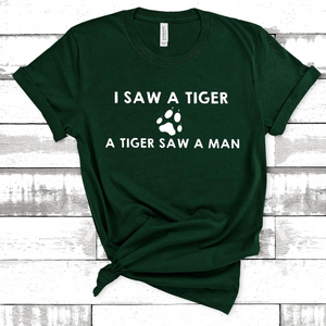 Wholesale - I Saw A Tiger Tee