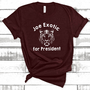 Wholesale - Joe Exotic for President Tee