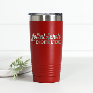 Wholesale - Jolliest Asshole This Side of the Nuthouse 20 oz Engraved Tumbler