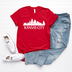 Kansas City Skyline Tee