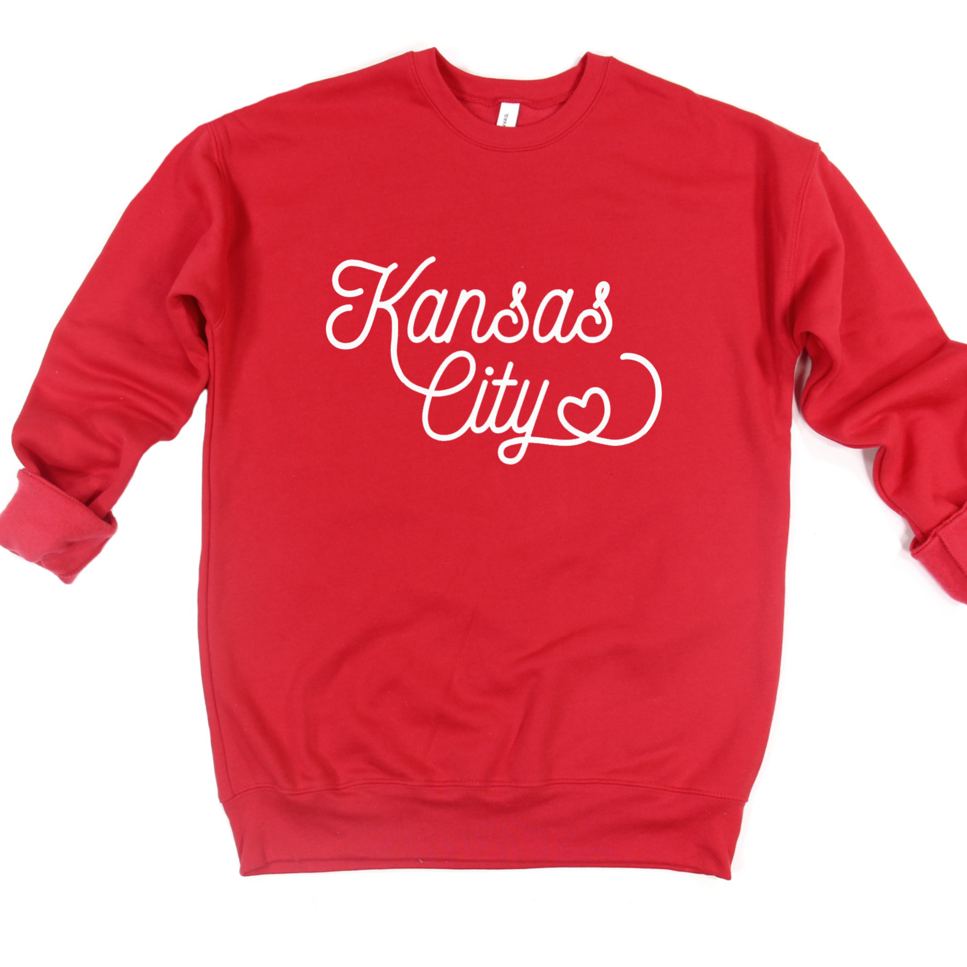 Kansas City Heart Crew or Hoodie Sweatshirt