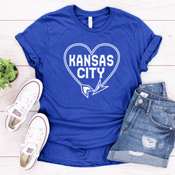 Kansas City Western Auto Heart Tee