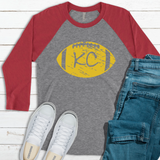 KC Football Raglan Tee