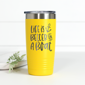 Wholesale - Life Is Better On A Boat 20 oz Engraved Tumbler