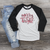 Merry and Bright Raglan Tee