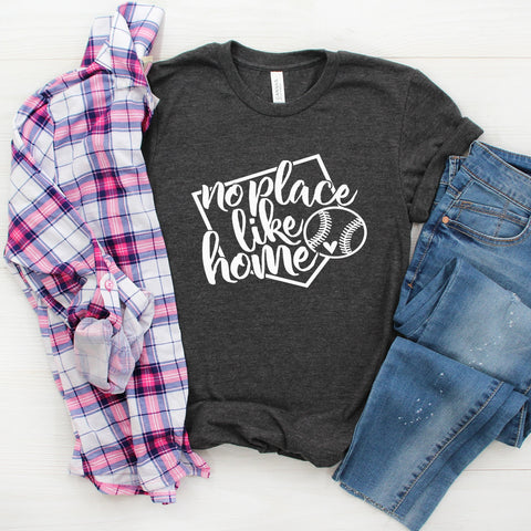 No Place Like Home Baseball Tee