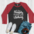 On the Naughty List Raglan Tee