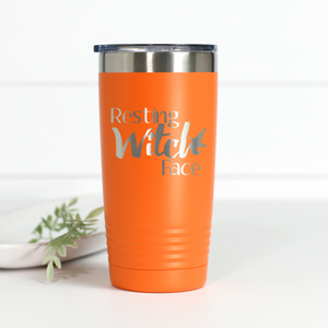 Resting Witch Face 20 oz Engraved Tumbler