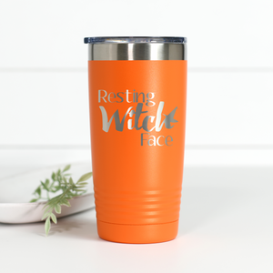 Wholesale - Resting Witch Face 20 oz Engraved Tumbler