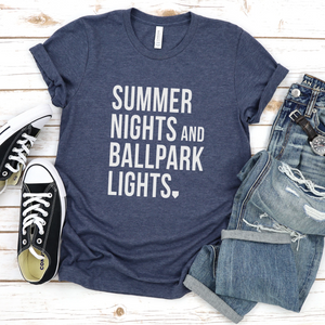 Wholesale - Summer Lights and Ballpark Lights Tee