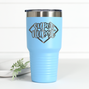Super Nurse 30 oz Engraved Tumbler