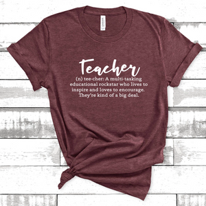 Wholesale - Teacher Definition Tee