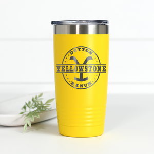 Wholesale - Yellowstone Dutton Ranch 20 oz Engraved Tumbler