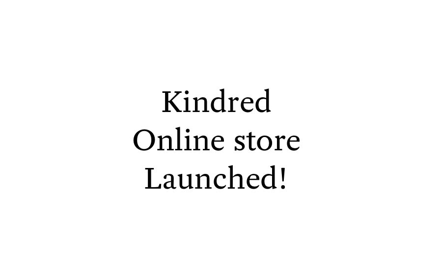 Kindred online store open!