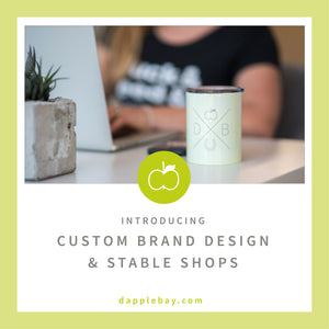 Custom Logo Design & Stable Shops