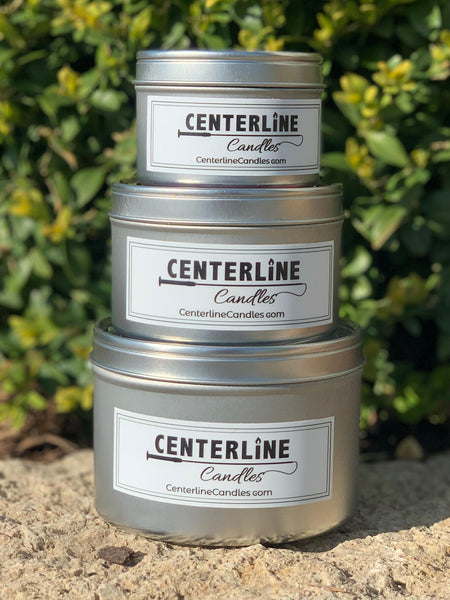 Equestrian themed candles by Centerline Candles