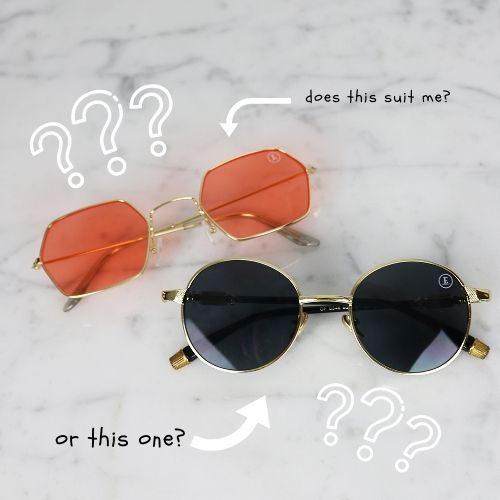 How to choose the RIGHT sunglasses for YOUR face shape!
